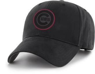 CHICAGO CUBS MLB Chicago Cubs Black Mass Basic Adjustable Cap/Hat by Fan Favorite
