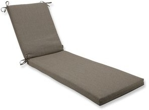 Bronx Ivy Indoor/Outdoor Chaise Lounge Cushion Ivy