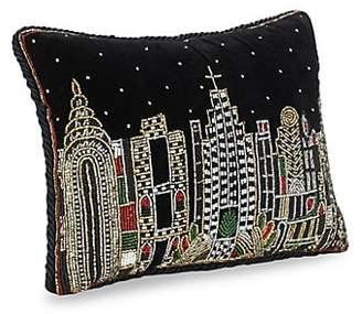 Dacor Sudha Pennathur NYC Skyline Embellished Pillow