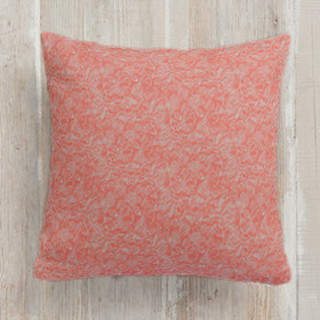 Springtime Fresh Vintage Buds Square Pillow