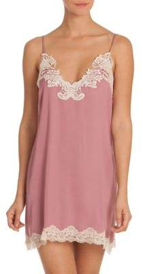 In Bloom Only With You Lace-Trimmed Satin Chemise