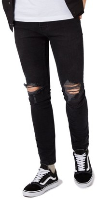 Men's Topman Ripped Skinny Fit Jeans $85 thestylecure.com