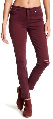Nine West Jeans Gramercy Destructed Skinny Jeans