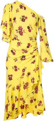 A.L.C. draped floral dress