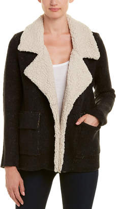 Willow & Clay Moto Sherpa Sweater