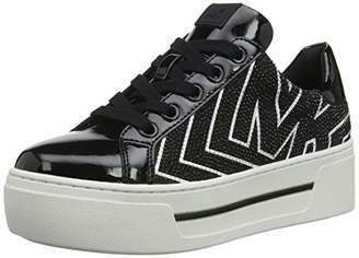 Michael Kors Women's's Mkors Ashlyn Sneaker Trainers Black 001