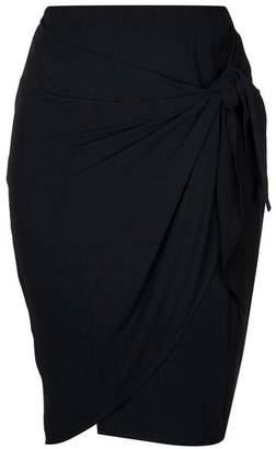 Evans City Chic Black Knot Twist Skirt