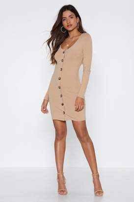 Nasty Gal Let Your Hair Button-Down Dress