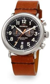 Shinola Runwell Stainless Steel Chronograph Watch