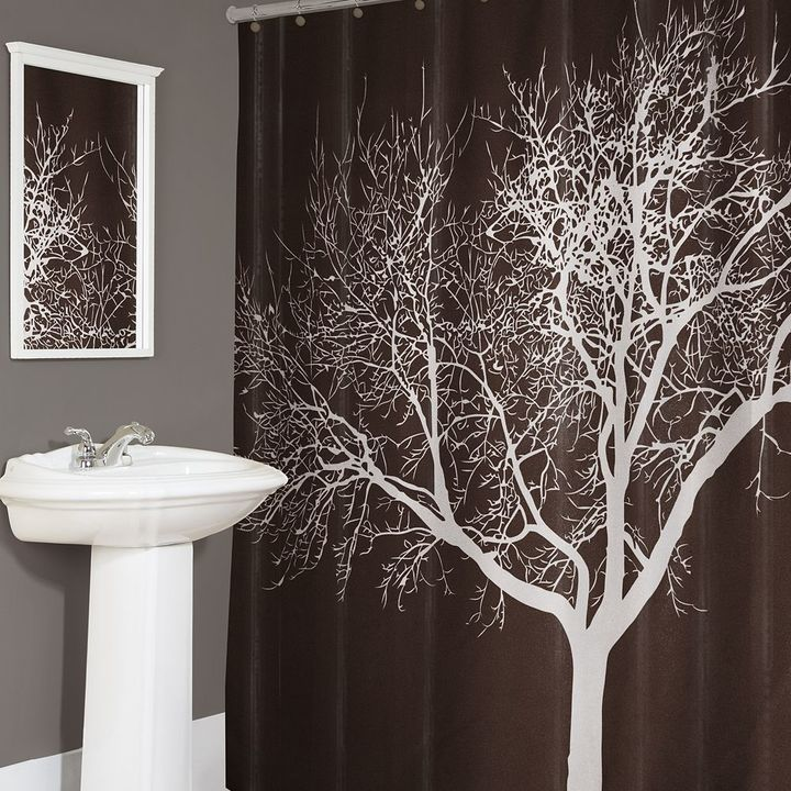 Splash Home Tree Fabric Shower Curtain Sold Out