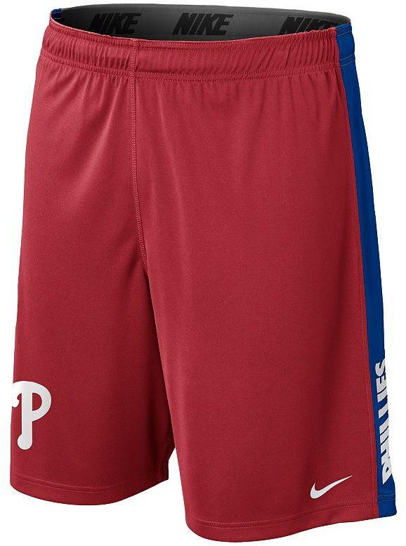 Nike philadelphia phillies fly dri-fit shorts - men