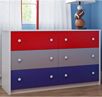 Zoomie Kids Sepulveda 6 Drawer Double Dresser