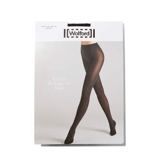 Wolford 'velvet De Luxe 66' Pair Of Tights Pants