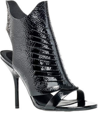 Max Studio estoile : patent leather laser cutout booties