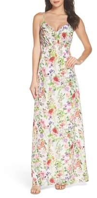 Felicity & Coco Carolina Print Maxi Dress
