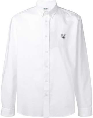 Kenzo embroidered Tiger shirt