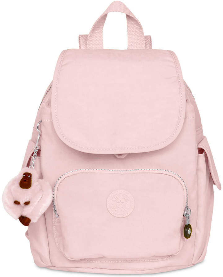 Kipling City X-Small Pack Backpack - BLACK/SILVER - STYLE