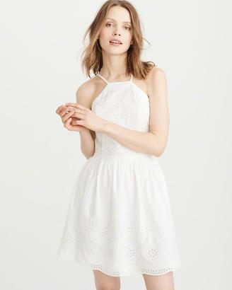 Eyelet Dress $68 thestylecure.com