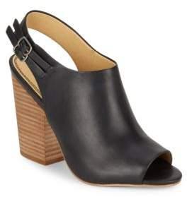 Kaylee Peep Toe Booties $148 thestylecure.com