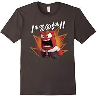 Disney Inside Out Anger Symbols Graphic T-Shirt