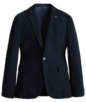 Mango Man MANGO MAN Slim-fit cotton-blend textured blazer