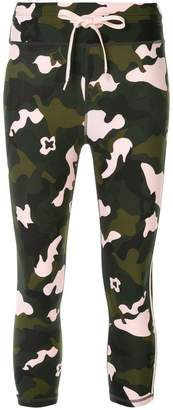 The Upside camouflage cropped leggings