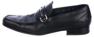 Salvatore Ferragamo Leather Dress Loafers