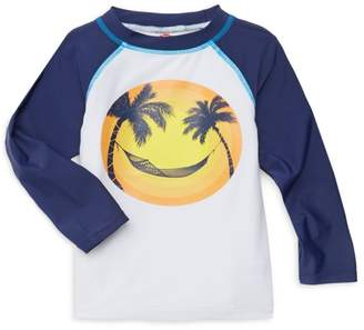 Appaman Baby, Little & Boy's Sun & Palm Graphic Rash Guard Top