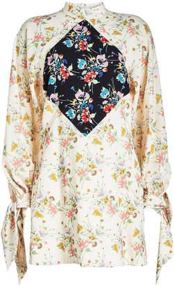 Christopher Kane Archive Floral Mini Dress
