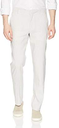 Perry Ellis Men's Slim Fit Linen Chino