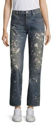 Re-Edition Capsule Splatter Paint Jeans
