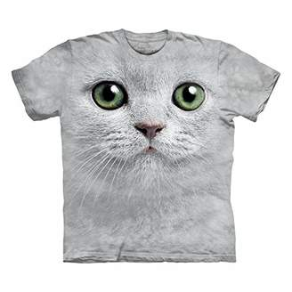 The Mountain Adult Unisex T-Shirt - Green Eyes Face