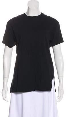 Alexander Wang Short Sleeve Crew Neck T-Shirt