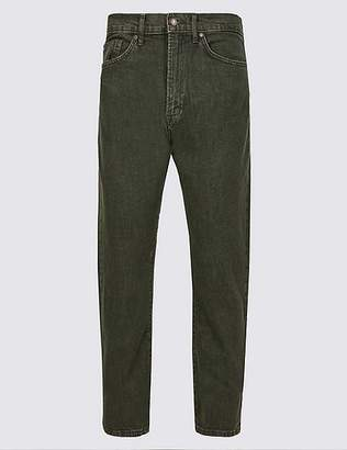"Marks and Spencer Regular Fit Stretch Jeans with Stormwearâ""¢"