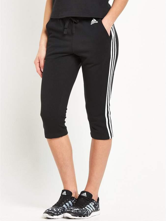 Essentials 3 Stripe 3/4 Pants