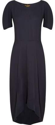 Vivienne Westwood Bow-Detailed Crepe Dress