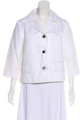 Marni Button-Up Collar Jacket