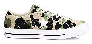 Converse Men's Archive Prints Remixed One Star Academy Ox Camo Sneakers
