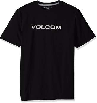 Volcom Men's Crisp Euro Short Sleeve Tee