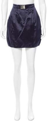 Emilio Pucci Belted Mini Skirt