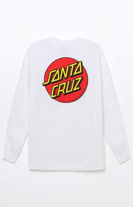 Santa Cruz Classic Dot Long Sleeve T-Shirt