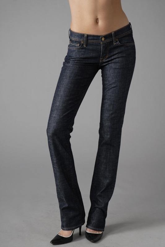 Citizens of Humanity Ava Straight Leg Jeans in Dark Paris