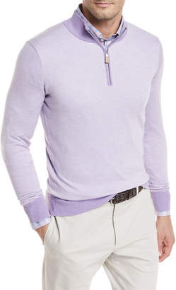 Peter Millar Crown Soft Birdseye Sweater