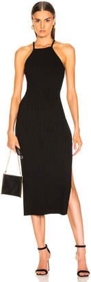 The Range Framed Rib Midi Dress in Black | FWRD