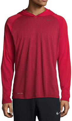 Nike Long Sleeve Dri-FIT Touch Hoodie