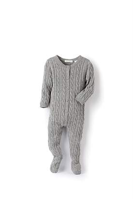 Country Road Unisex Cable Knit Jumpsuit