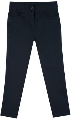 Chaps Girls 4-16 School Uniform Twill Ankle Pants