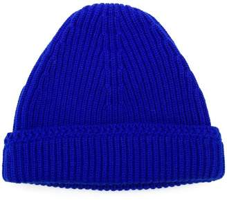 Maison Margiela ribbed knit beanie