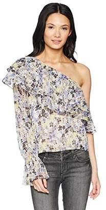 Lucky Brand Women's Sleeveless Floral Top