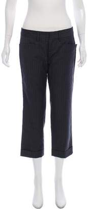 DSQUARED2 Wool Low-Rise Pants